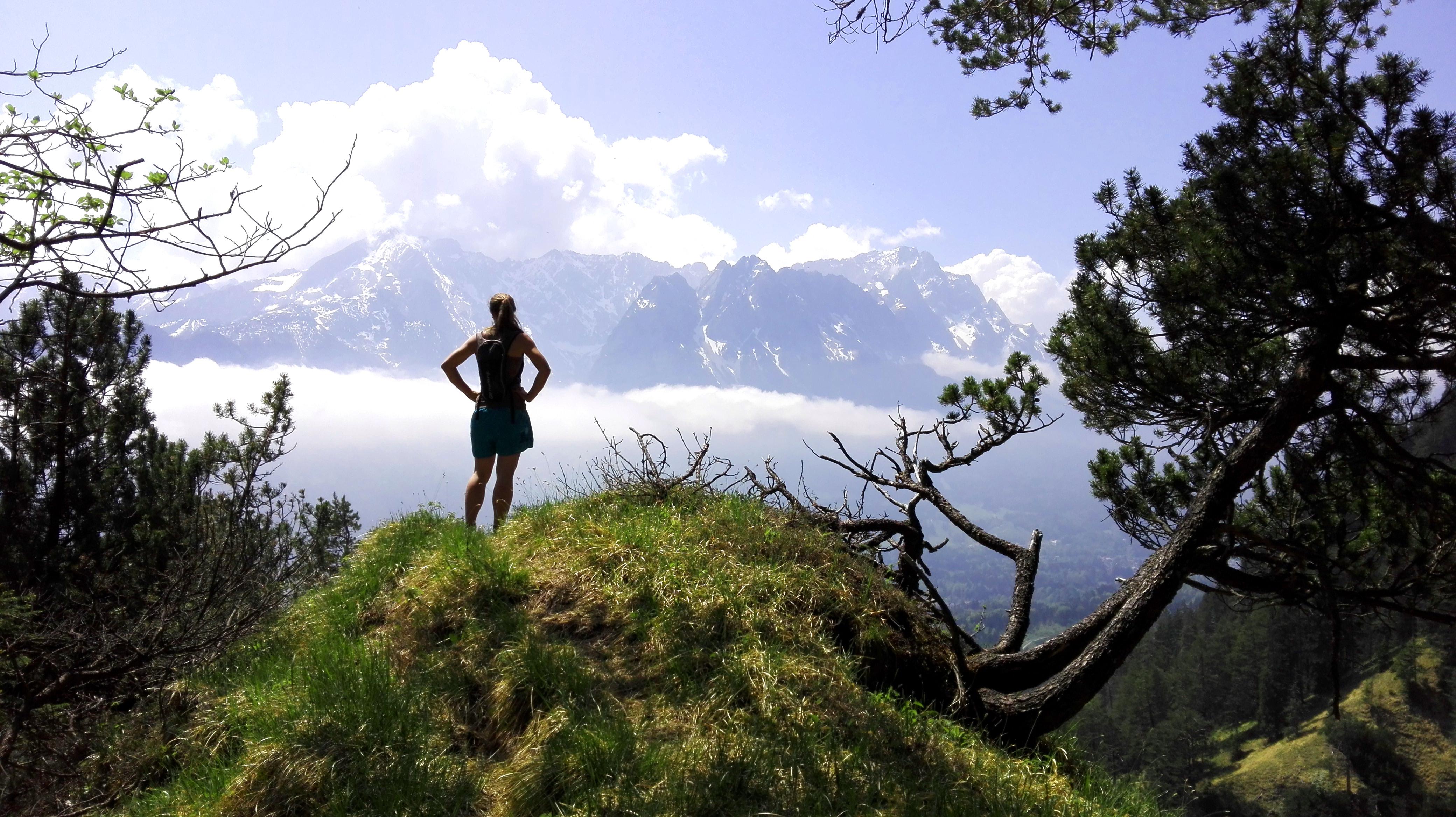 Bergwanderung auf die Kramerspitze