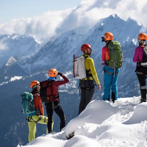 Winterbegehung der Alpspitze