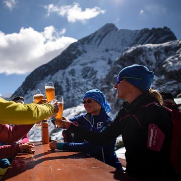 Nach der Tour auf die Alpspitze