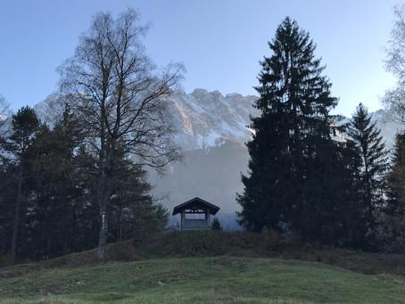 Herbststimmung in Grainau