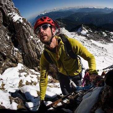 Im Winter auf die Alpspitze