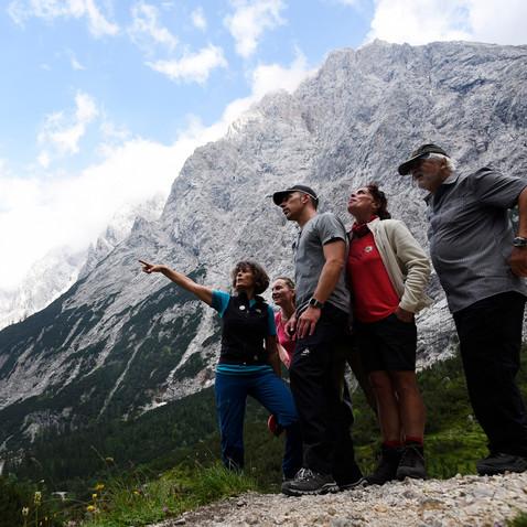 Bergwandern im Reintal