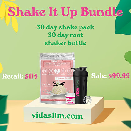 Vanilla Shake It Up Bundle