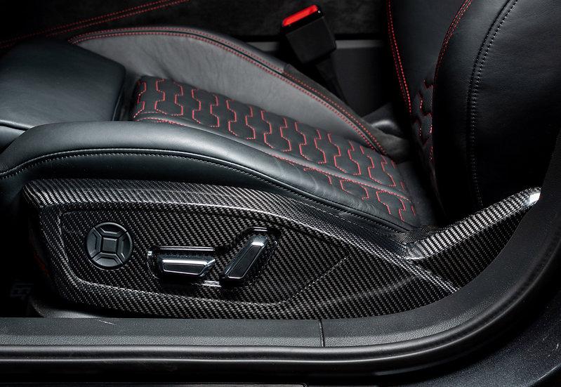 Front Seat Panels (Carbon Fiber)