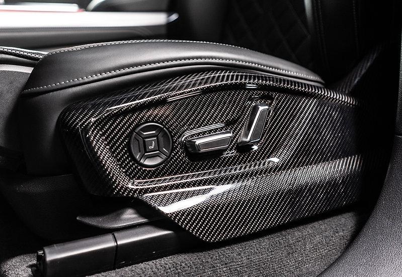 Audi RSQ8 - Front Seat Panels (Carbon Fiber)