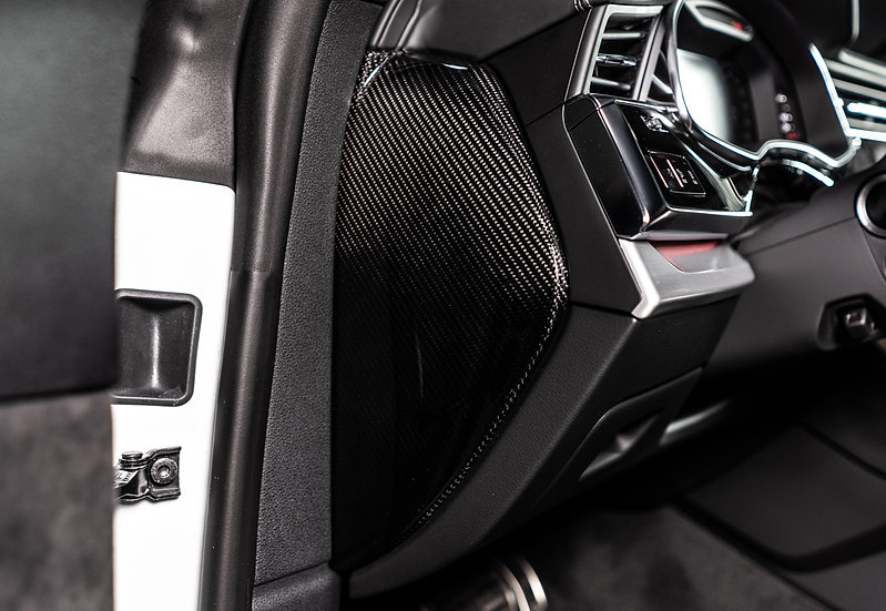 Audi A7/S7 MY19/20 - Dashboard Side Covers (Carbon Fiber)
