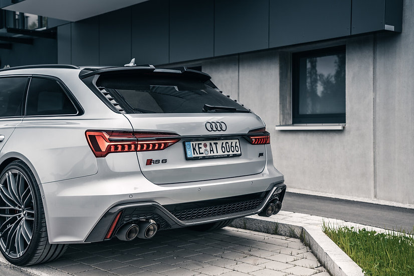 Audi RS6 MY21 - Exhaust