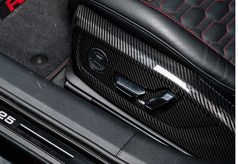 Audi A7/S7 MY19/20 - Front Seat Panels (Carbon Fiber)