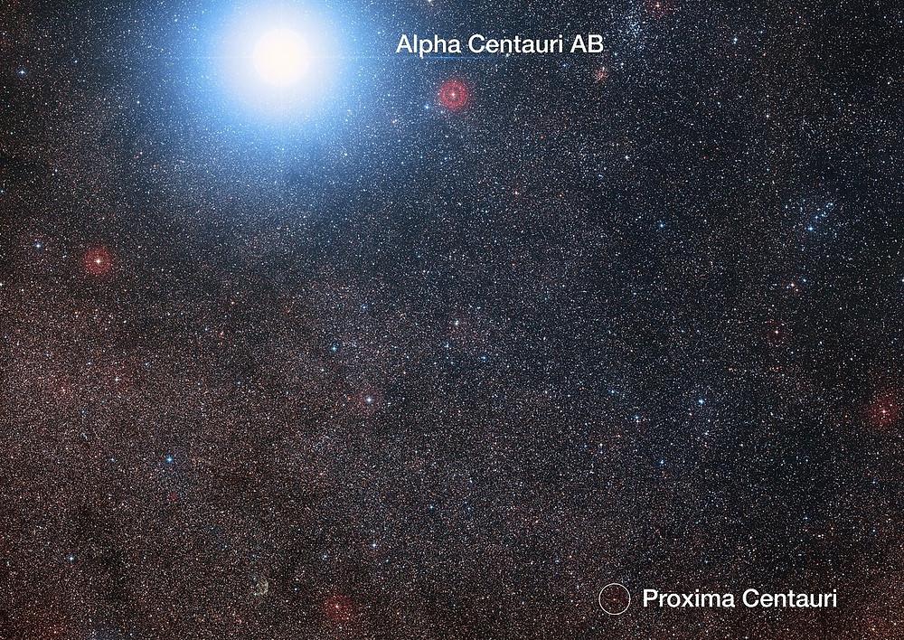 Alpha Centauri, Proxima Centauri