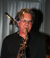 Sean playing alto saxophone