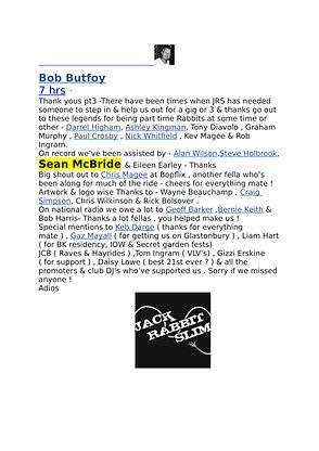 Bob Butfoy jack rabit slim thanks FBii-1