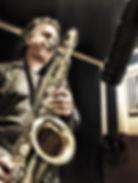 Recording tenor sax