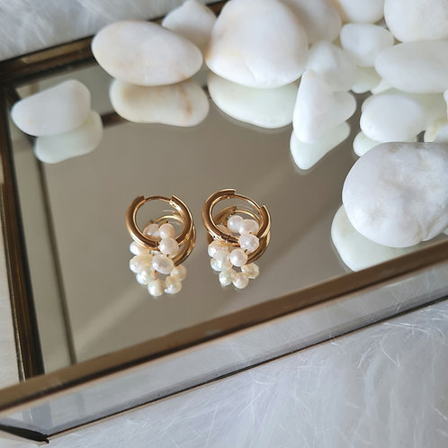 Penelope hoop earrings style#2