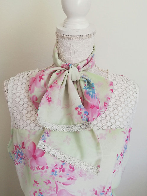 Ismini top with scarf