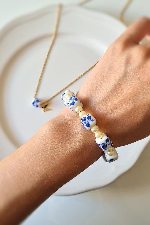 The blue collection bracelet