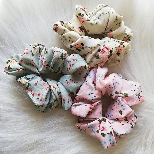 Floranc scrunchies