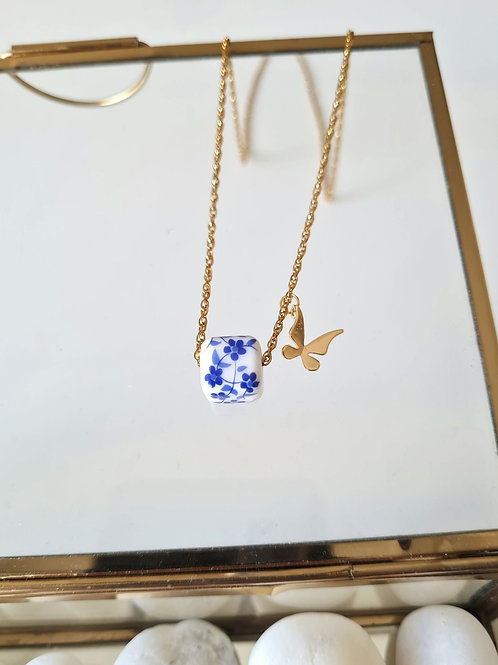The blue collection necklace