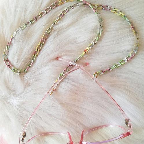 Rainbow glasses chain