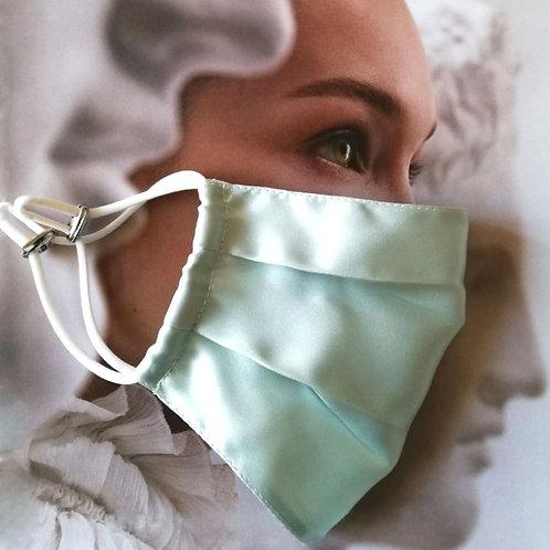 Silk mask (light aqua)