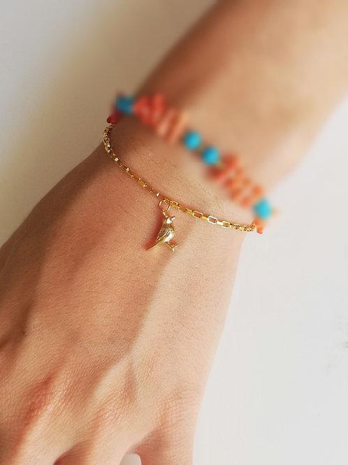 The bird bracelet