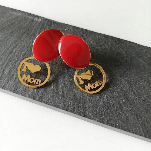 🖤  mom earrings