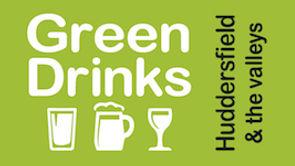 Huddersfield Green Drinks logo landscape