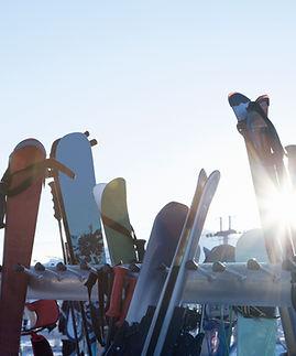 des skis