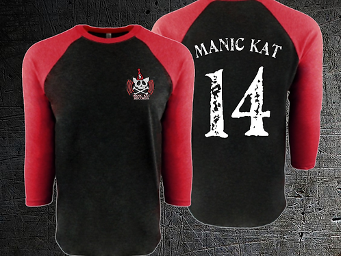 MKR 5 Year Anniversary Baseball Tee (Black/Red)