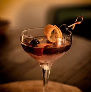 Ben's Black Manhattan