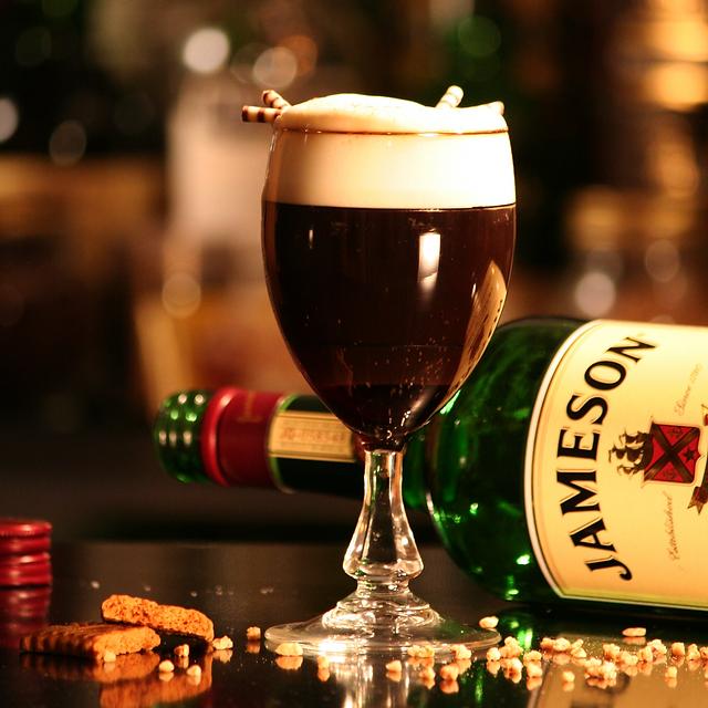 Holiday Irish Coffee