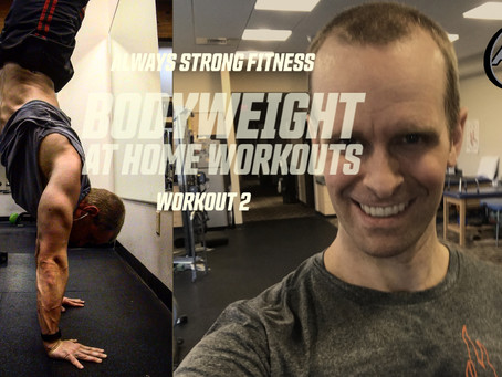 Bodyweight at Home Workout Series 2
