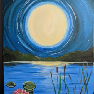 Canvas - Moon