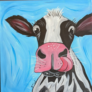 Canvas - Cow
