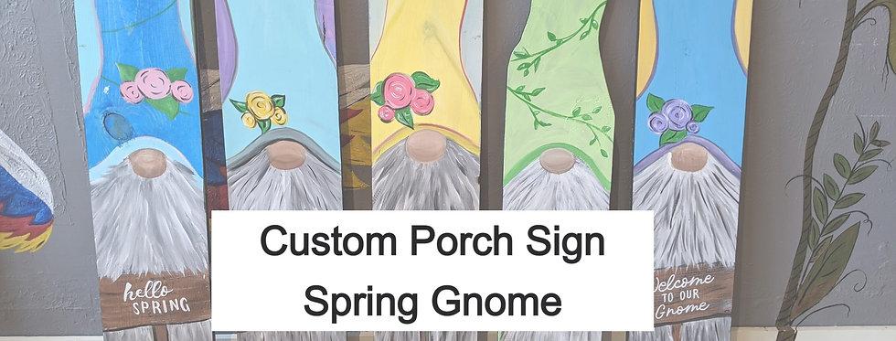 Custom Porch Sign Request