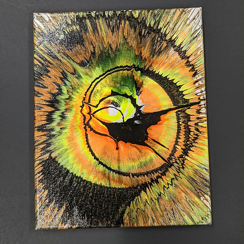 Spin Art 8x10 canvas
