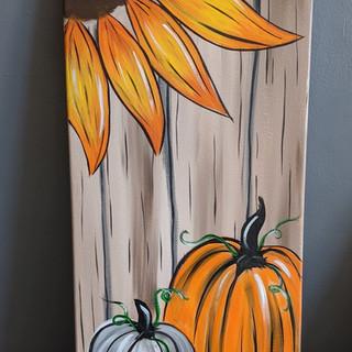 Canvas - Sunflower & Pumpkin