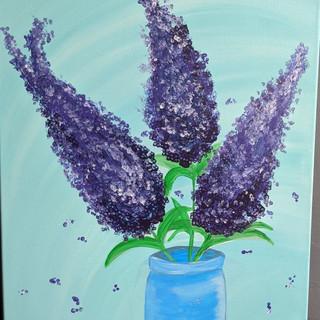 Canvas - Lilacs