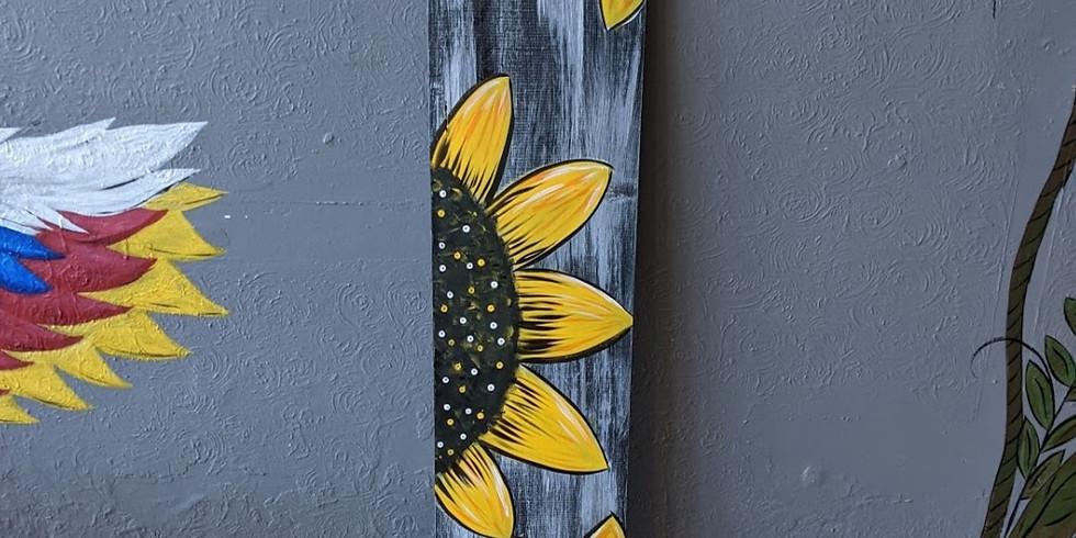Sunflower Porch Sign