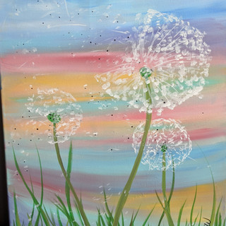 Canvas - Dandilion Wish