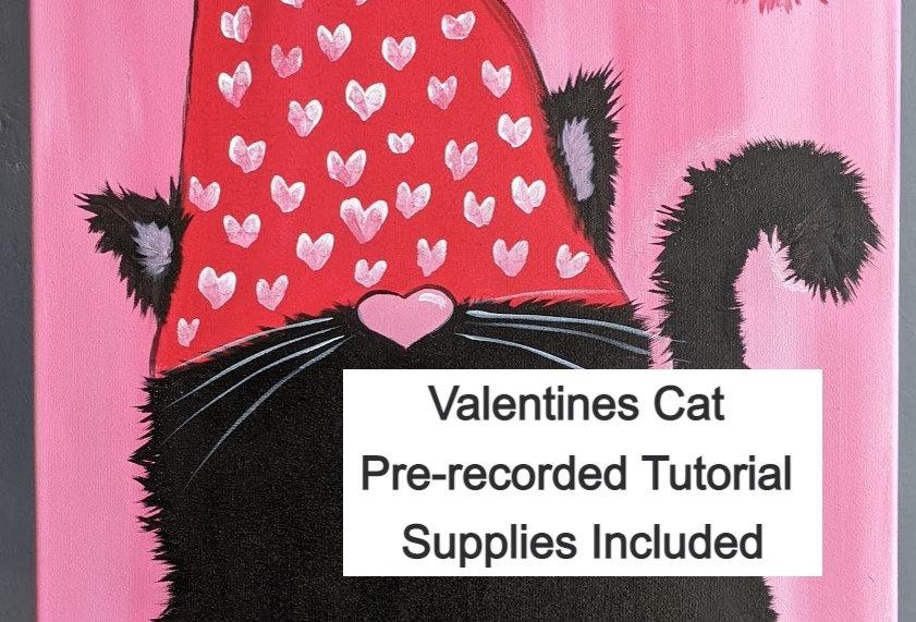 Valentine's Cat Tutorial