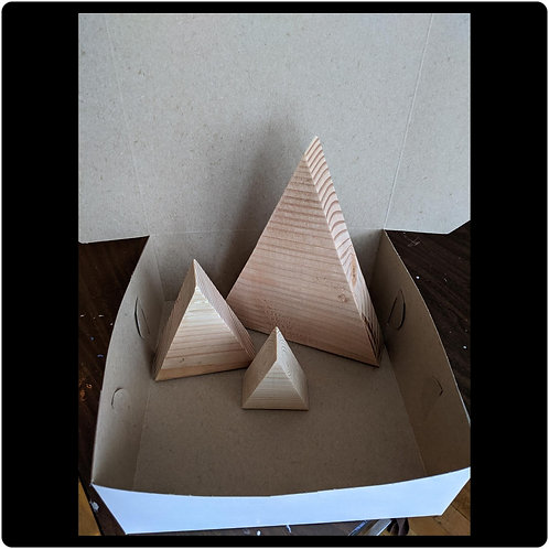 Triangle Tree - Wood Only