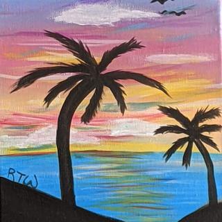 Canvas - Palm Tree Sillouette.jpg