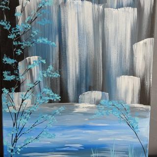 Canvas - Waterfall