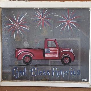 Antique Window - Truck Patriotic.jpg
