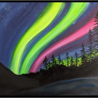 Canvas - Northern Lights Bright