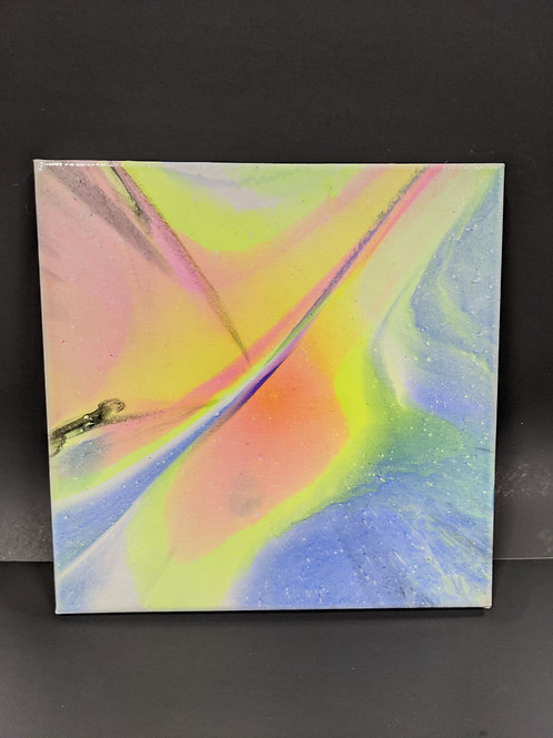 Spin Art 12x12 canvas