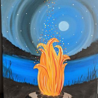 Canvas - Bonfire