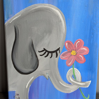 Canvas - Elephant