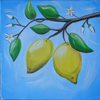 Canvas - Lemons