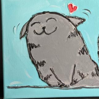 Canvas - Kitty